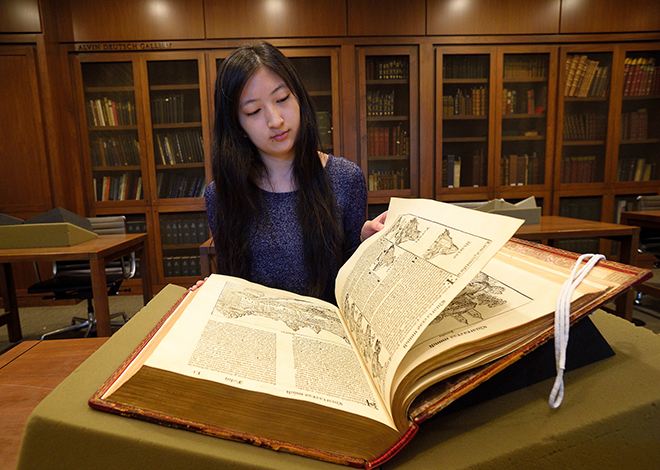 Meet Zoe D. from Special Collections