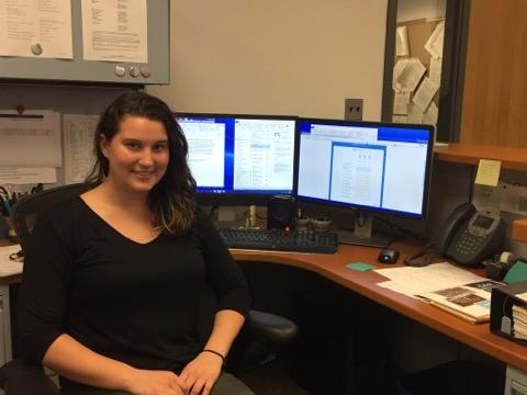 Meet Kela M. From the Department of Environmental Health andEngineering!